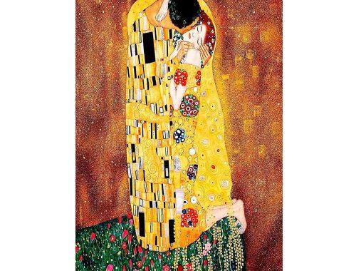 El beso de Klimt en portada