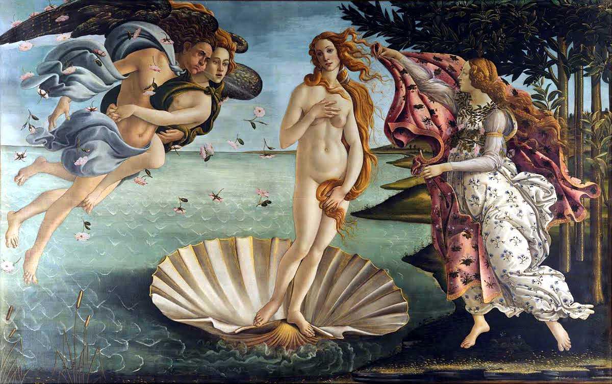 Sandro Botticelli诞生了金星