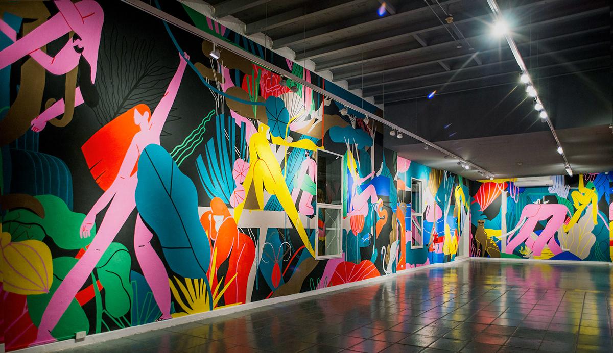 Unione di città e natura con le opere di Xoana Herrera