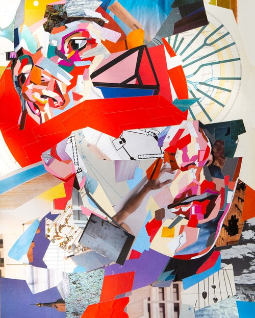 Epiphany collage av Patrick Bremer