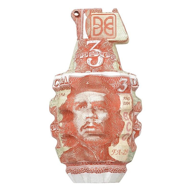 Granata di Ernesto Guevara realizzata da Justine Smith