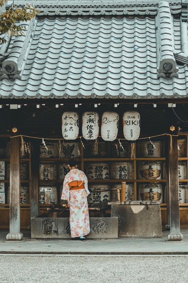 Το κιμονό εξελίχθηκε με την επιρροή της Κίνας
