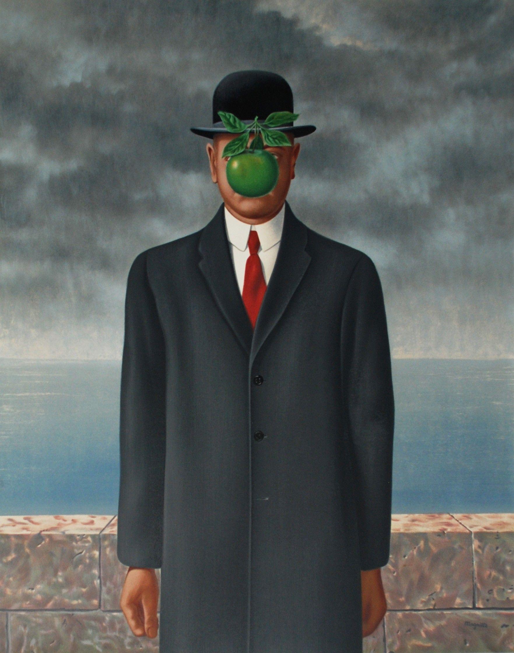 RenéMagritte的男子