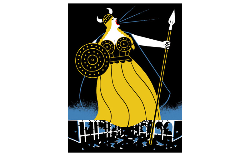 Ilustración de Luci Gutiérrez para New Yorker