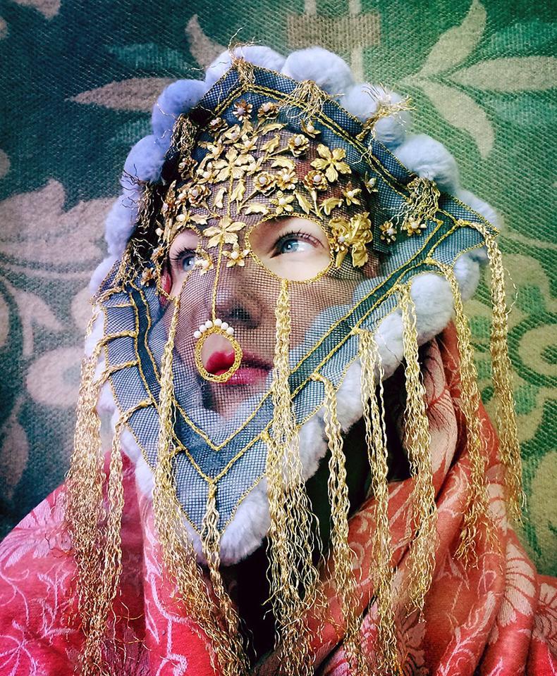 unieke en fantastische maskers van Damselfrau