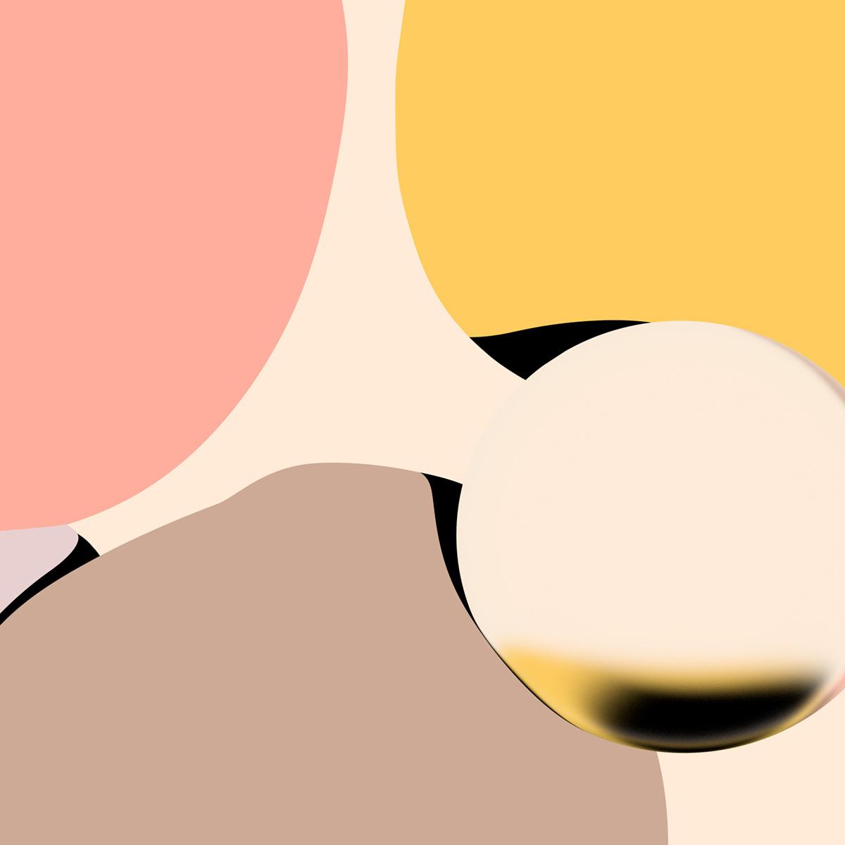 Kleuren, lichten en vormen geven harmonie aan het werk van Pol Solà