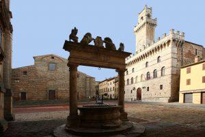 Montepulciano in Toscane