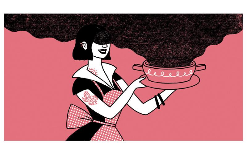 New Yorker, Luci Gutiérrez