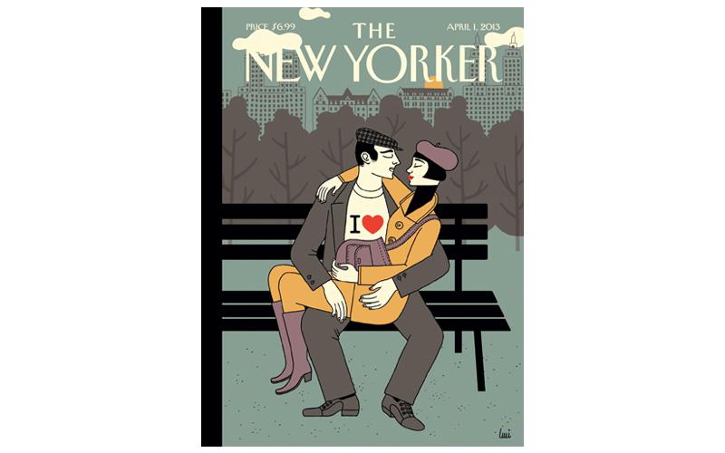 Portada The New Yorker de Luci Gutiérrez