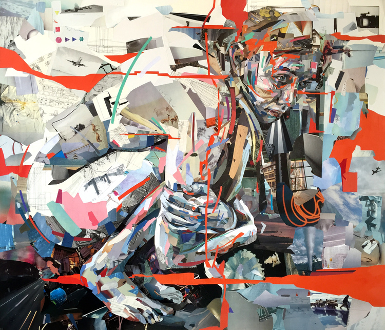 Collage Nypotenuse av Patrick Bremer