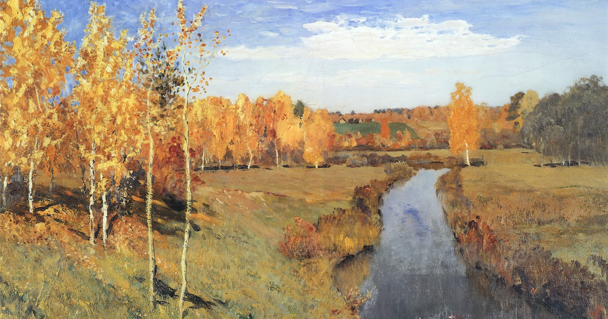 Golden Autumn of Isaac Levitan