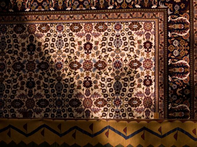 Dettaglio del tappeto turco