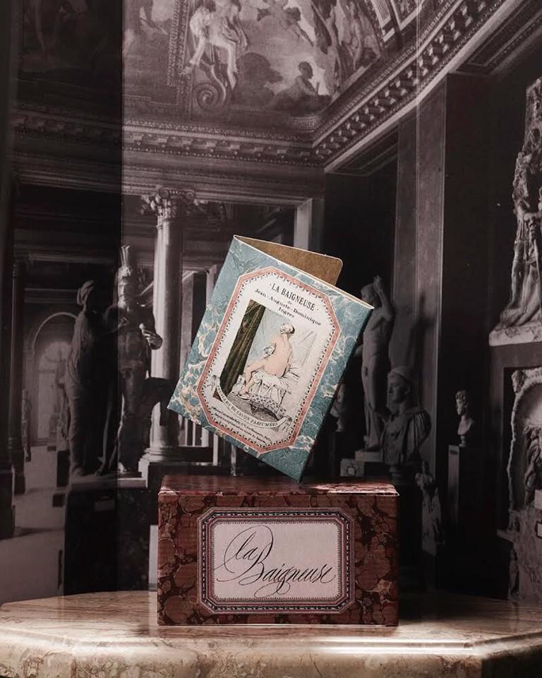Κάρτες και αρώματα με μυρωδιά έργων τέχνης