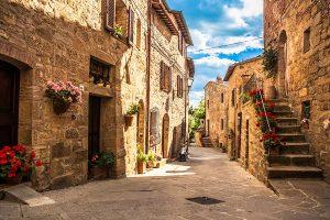 Pienza in Toscane