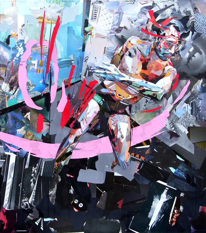 Collage Reversion av Patrick Bremer