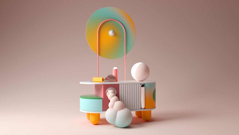 Hoeken van kleuren van de ontwerper Santi Zoraidez