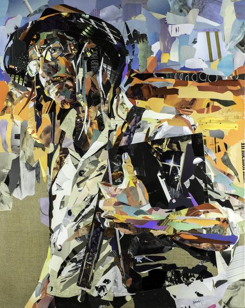 Collage Road til Tarascon av Patrick Bremer