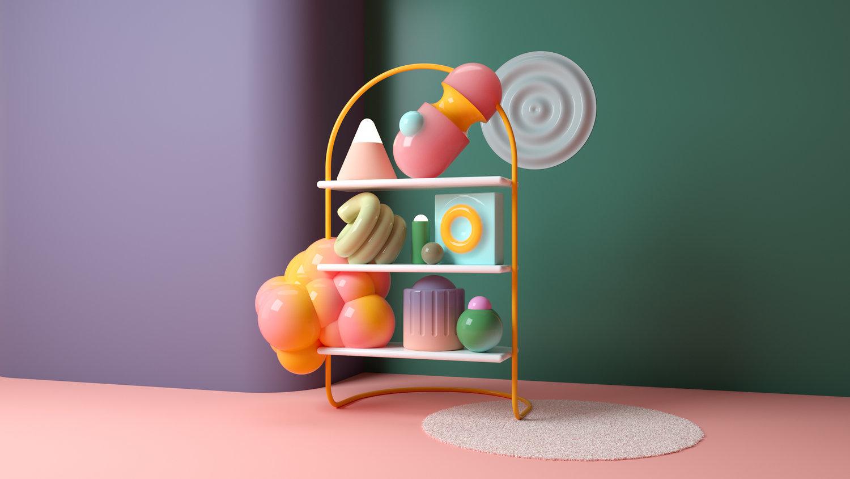 Hjørner av farger av Santi Zoraidez