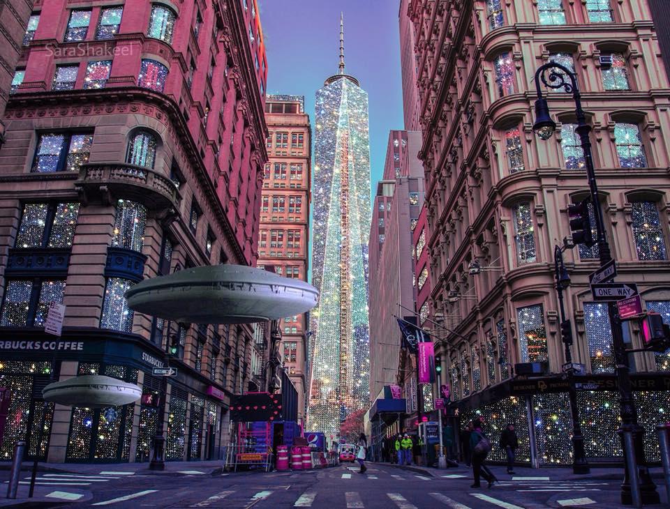 Οι φωτεινές πόλεις της Sara Shakeel