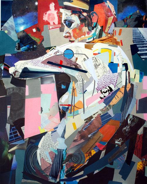 Collage Satellitt av Patrick Bremer