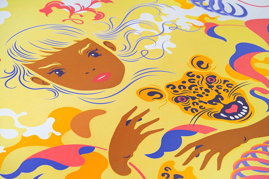 Illustrazioni ispirate alla natura della Riviera Maya