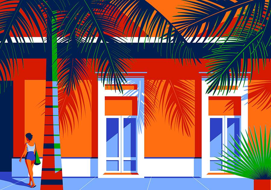 I disegni unici di Futura Forever Beach Project