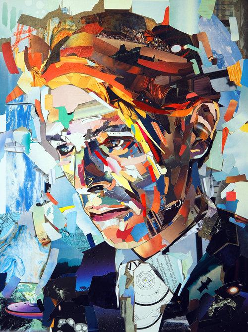 Collage Den tynne hvite hertugen av Patrick Bremer