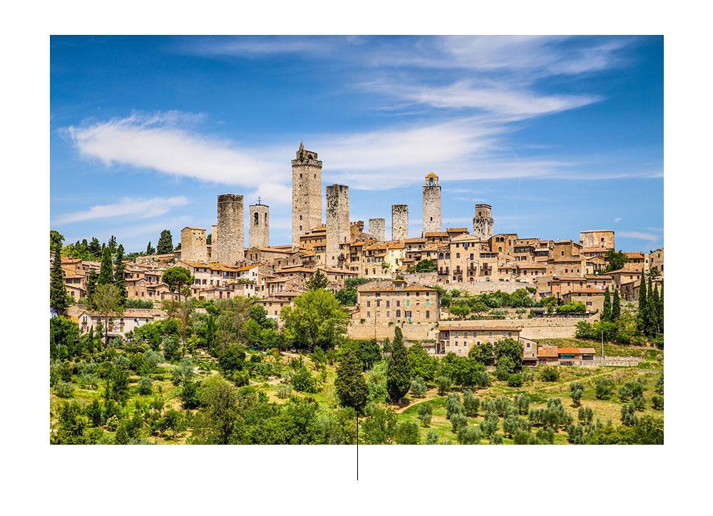 De mooiste dorpen van Toscane