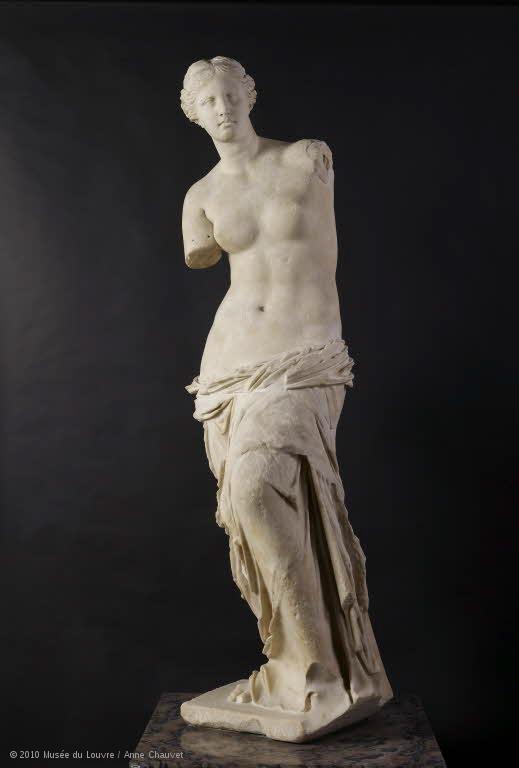卢浮宫的维纳斯米洛