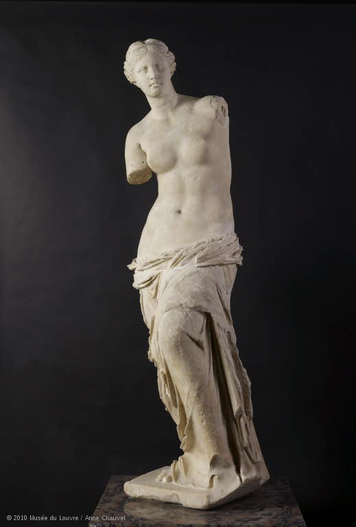Venus de Milo en Louvre