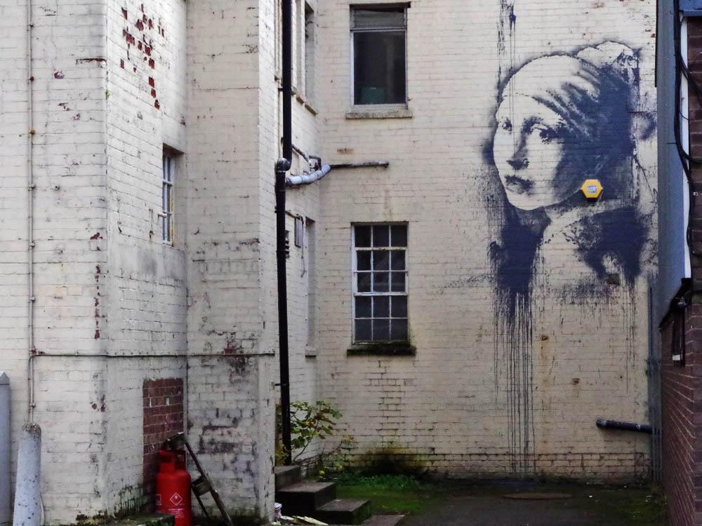 Banksy的作品中的艺术