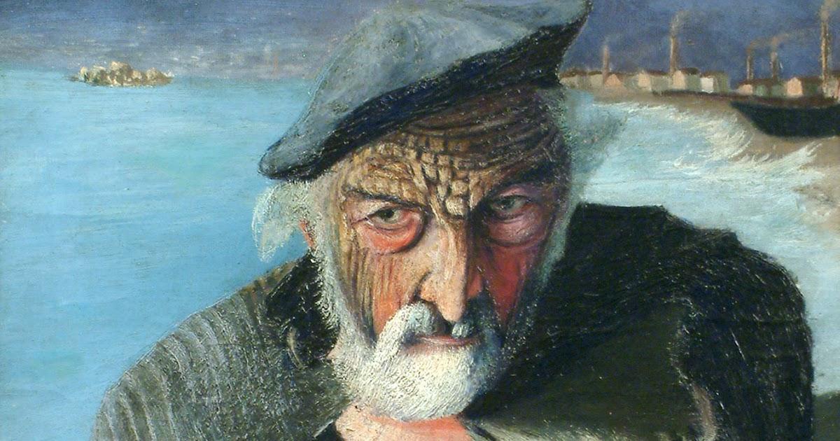 Viejo pescador de Tivadar Csontváry Kosztka