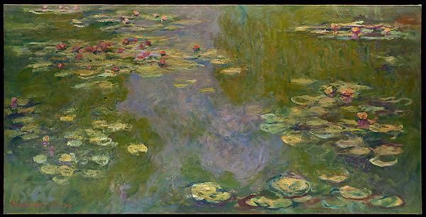 Waterlelies van Claude Monet aan de MET