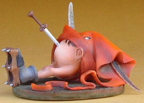 엘 보스코의 소장 캐릭터와 등장하는 그림