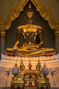 Buda de Wat Traimit. Foto de pinterest.com