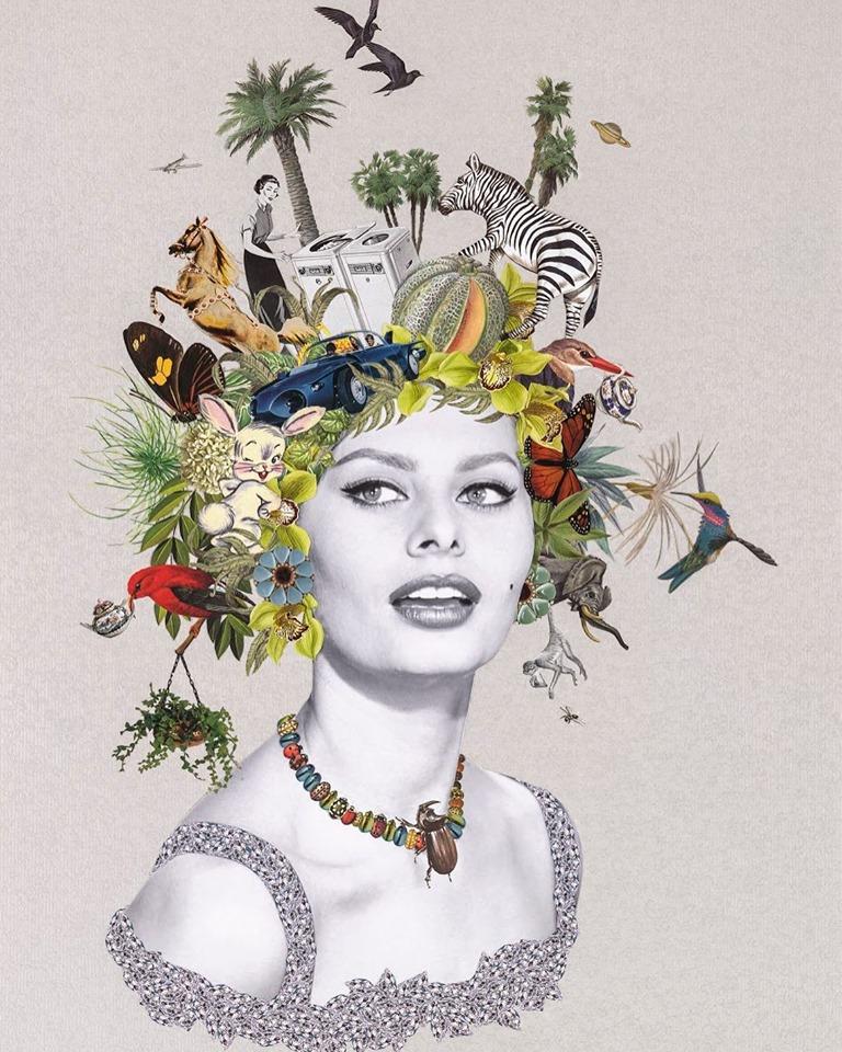Maria Rivans Foto di FB @ Maria-Rivans-Collage