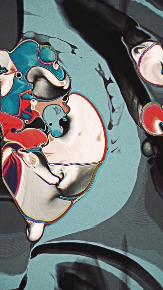 neo-psychedelische esthetiek van Yoshi Sodeoka