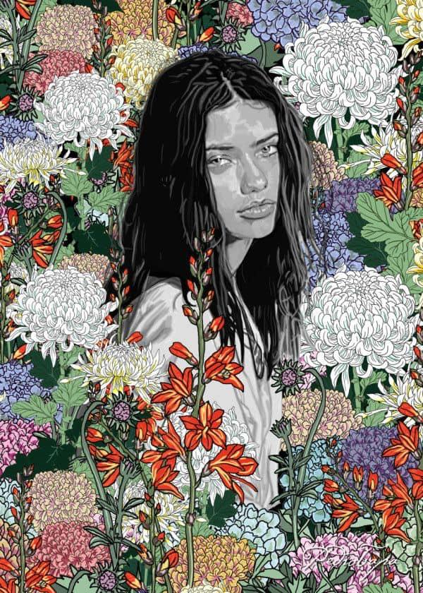 Ilustración/Retratos de Pedro Tapa