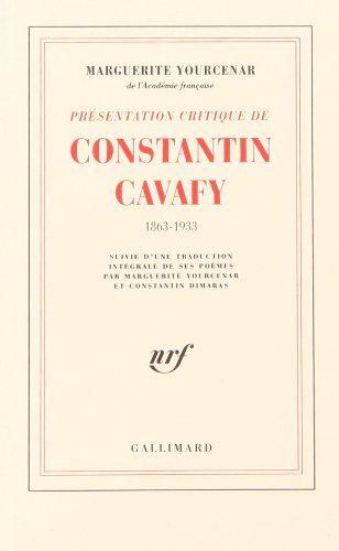 Constantino Cavafis. Foto de pinterest.com