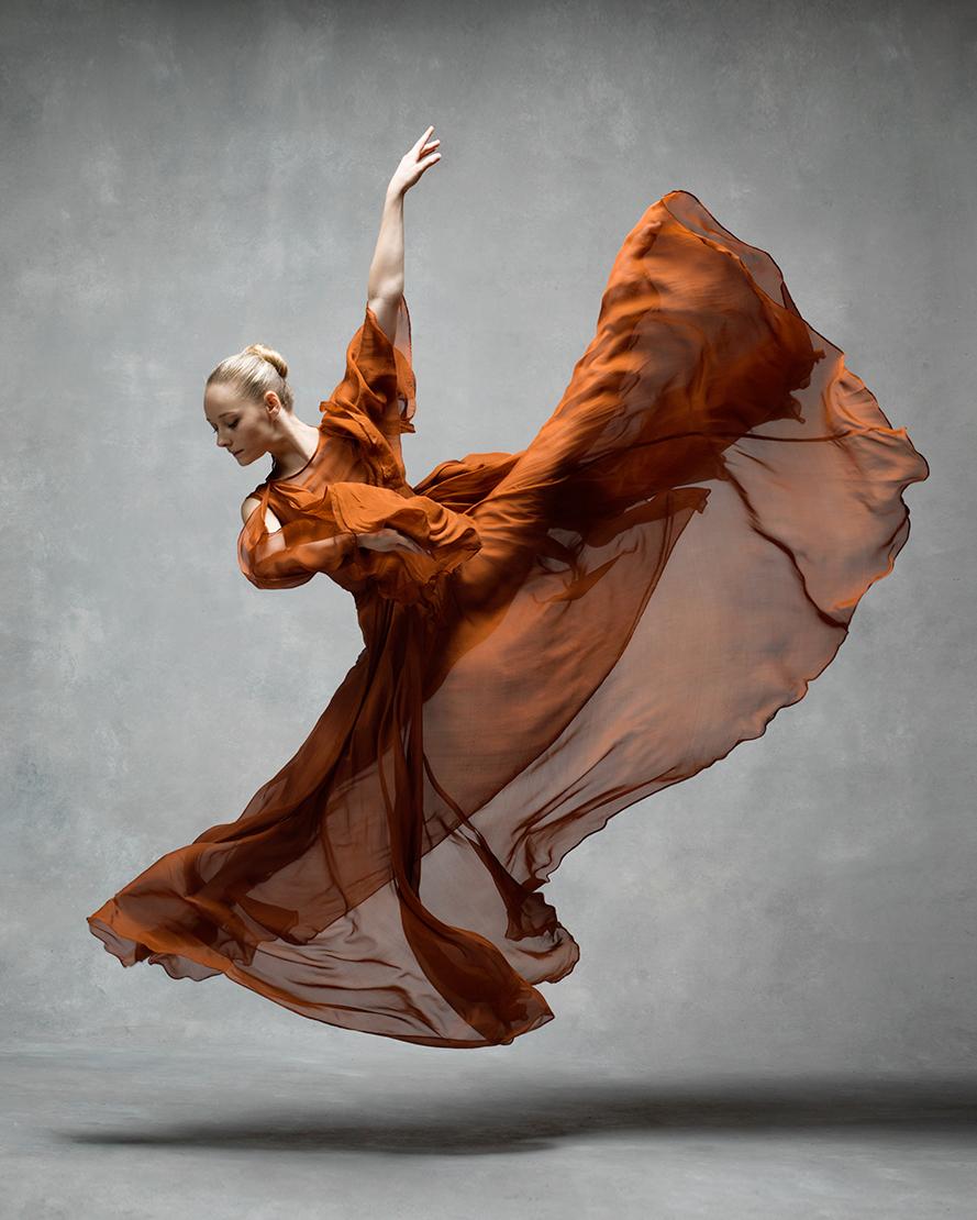 La bailarina Charlotte Landreau. Foto: