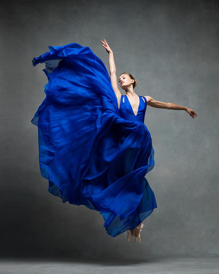La bailarina Miriam Miller. Foto: NYC Dance Project