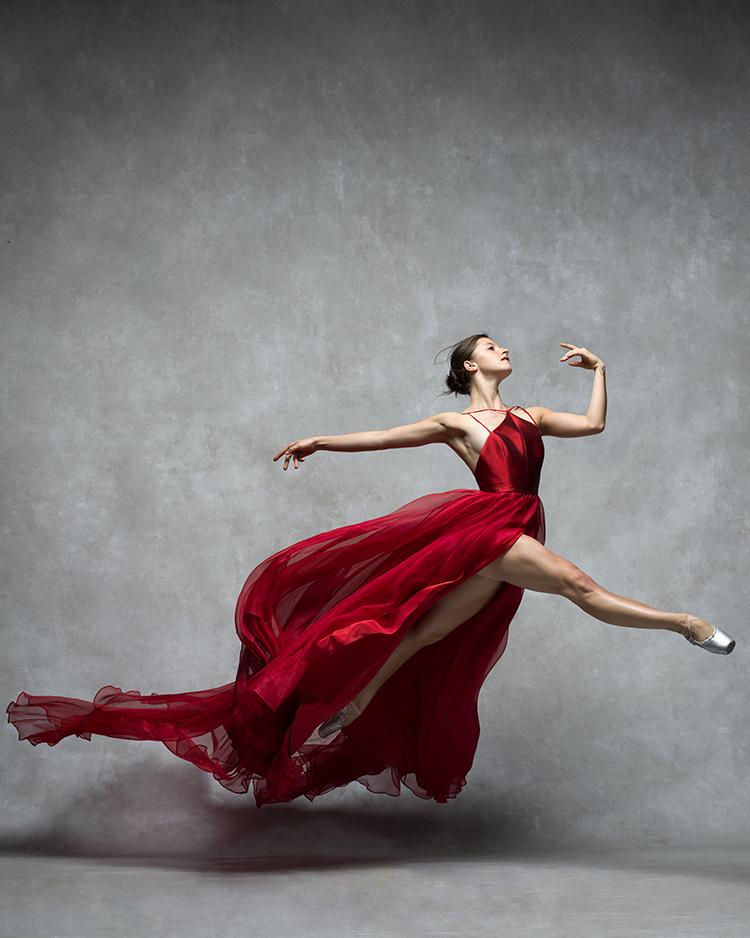 La bailarina Indiana Woodward. Foto: NYC Dance Project