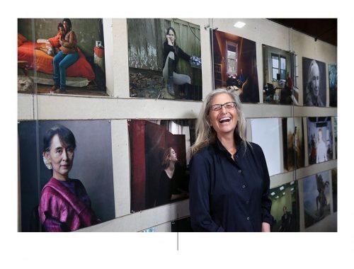La fotografa Annie Leibovitz