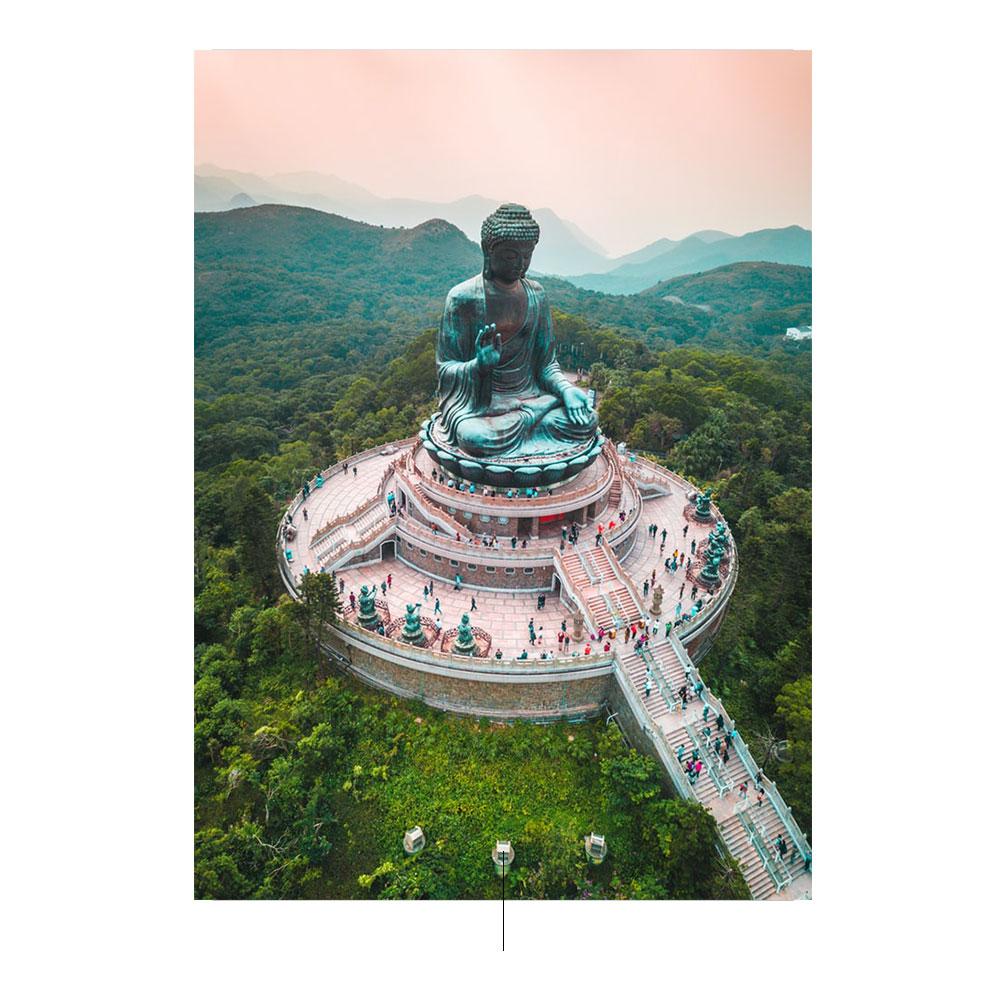O grande Buda de Tian Tan. Foto por pinterest.com