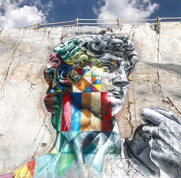 ਇਡੁਆਰਡੋ ਕੋਬਰਾ ਦੁਆਰਾ ਇਟਲੀ ਵਿੱਚ ਗ੍ਰੈਫਿਟੀ. ਫੋਟੋ: ਐਡੁਆਰਡੋ ਕੋਬਰਾ
