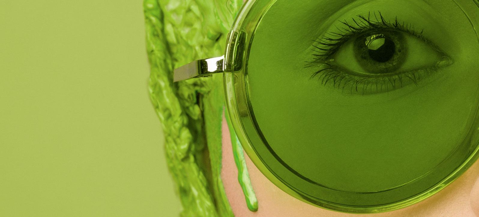 Ojo verde. Foto: Flora Borsi