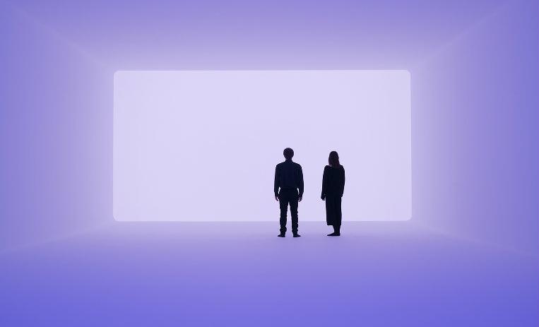 Obra de James Turrel, el artista de la luz