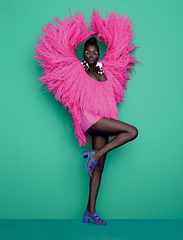 Arte, moda e design di Jorge Romanos. Foto: Paulo Vainer
