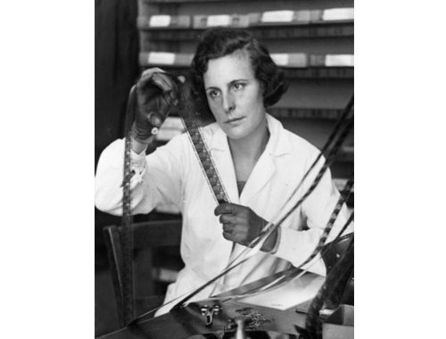 Leni Riefenstahl. Foto pinterest.com