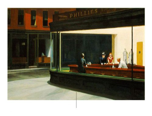Nighthakws de Edward Hopper